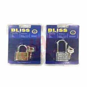 แม่กุญแจลูกปืนขนาด 30 มิล ยี่ห้อ Bliss