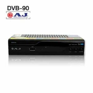 กล่องดิจิตอลทีวียี่ห้อ aj DVB-90