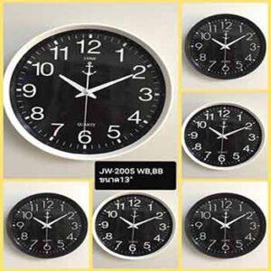 นาฬิกาแขวนยี่ห้อ JTIME รุ่น JW-2005 หน้าปัด 13 นิ้ว