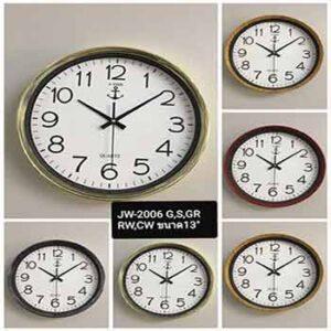 นาฬิกาแขวนยี่ห้อ J-Time รุ่น JW-2006 หน้าปัด 13 นิ้ว