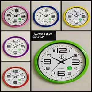 นาฬิกาแขวนผนังขนาด 14 นิ้ว ยี่ห้อ J-TIME