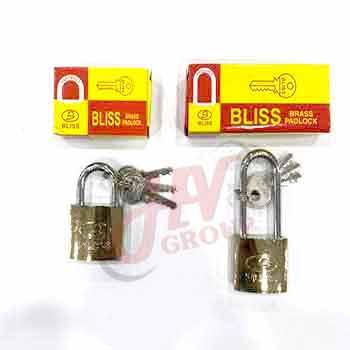 แม่กุญแจคล้องยี่ห้อ Bliss ขนาด 32 mm.