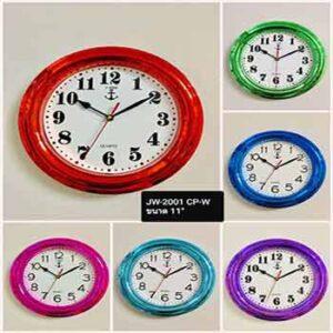 นาฬิกาแขวนยี่ห้อ J-TIME 2001 กรอบเคลือบเงา 11 นิ้ว