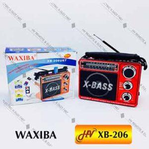 วิทยุยี่ห้อ WAXIBA รุ่น XB-206