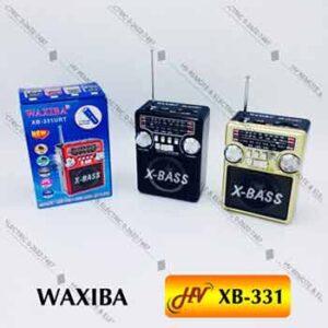 วิทยุยี่ห้อ WAXIBA รุ่น XB-331