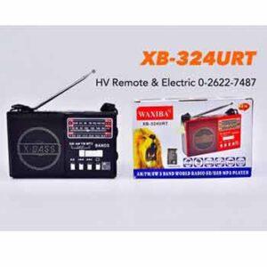 วิทยุยี่้ห้อ WAXIBA รุ่น XB-324URT