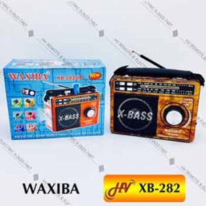 วิทยุฟังเพลงแบบมีไฟฉาย WAXIBA รุ่น XB-282