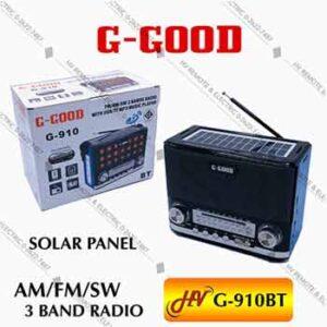 วิทยุแบรนด์ G-Good มีไฟฉาย รุ่น G-910BT