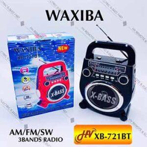 วิทยุฟังเพลงยี่ห้อ WAXIBA รุ่น XB-721BT