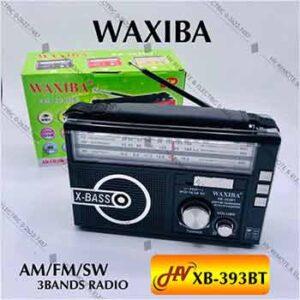 วิทยุมีสายสะพายยี่ห้อ WAXIBA รุ่น XB-393BT