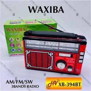 วิทยุมีสายสะพายยี่ห้อ WAXIBA รุ่น XB-394BT
