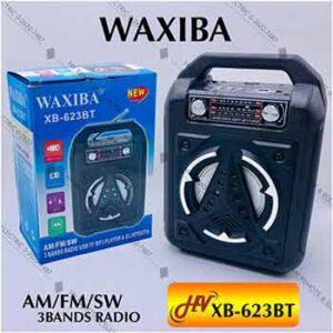 วิทยุมีหูหิ้วยี่ห้อ WAXIBA รุ่น XB-623BT