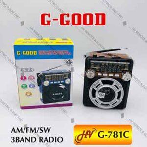 วิทยุยี่ห้อ G-Good รุ่น G-781C