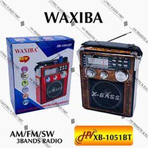 วิทยุยี่ห้อ WAXIBA รุ่น XB-1051BT