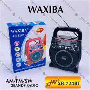 วิทยุยี่ห้อ WAXIBA รุ่น XB-724BT