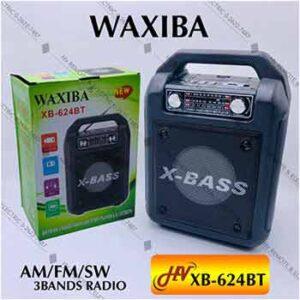 วิทยุหูหิ้ว WAXIBA รุ่น XB-624BT