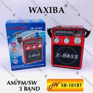 วิทยุเอนกประสงค์ยี่ห้อ WAXIBA รุ่น XB-181BT