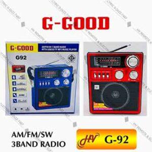 วิทยุแบรนด์ G-Good รุ่น G-92