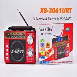 วิทยุไฟฉายยี่ห้อ WAXIBA รุ่น XB-3061URT