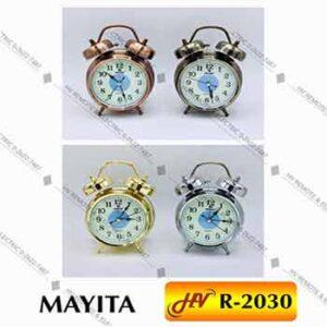 นาฬิกาปลุกยี่ห้อ MAYITA รุ่น R-2030