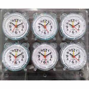 นาฬิกาปลุกแพ็ค 6 เลขอารบิก
