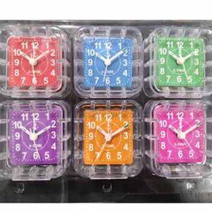 นาฬิกาแพ็ค 6 ตัว หน้าสีกรอบใส