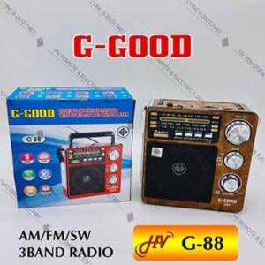 วิทยุหูหิ้วยี่ห้อ G-Good รุ่น G-88