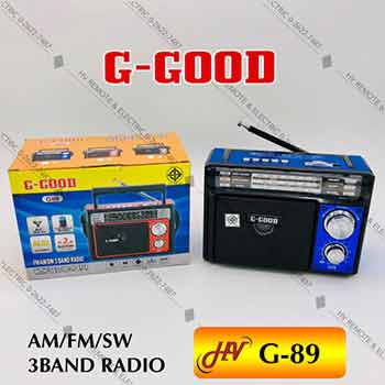 วิทยุหูหิ้วยี่ห้อ G-Good รุ่น G-89