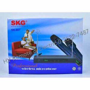 ไมค์คู่ยี่ห้อ SKG รุ่น SK-807 แบบ 2in1