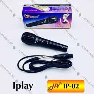 ไมค์ยี่ห้อ Iplay รุ่น IP-02 แบบไดนามิก