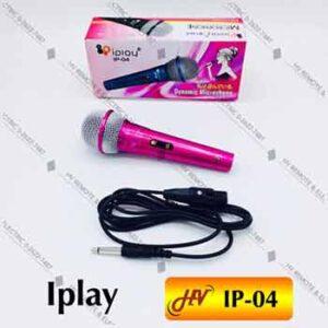 Microphone มีสายยี่ห้อ Iplay รุ่น IP-04